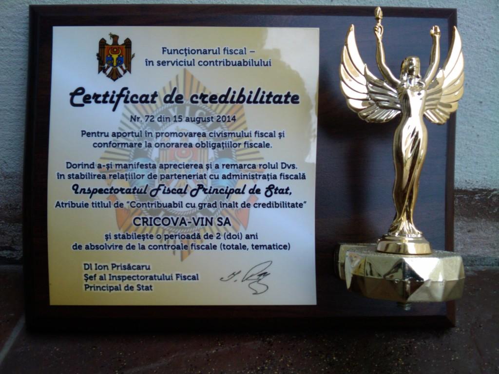 Certifican de credibilitate2